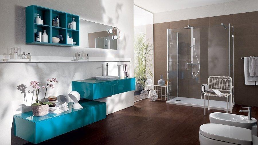 Расстановка мебели в ванной