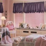 Комната для девочки в фиолетовых тонах