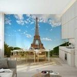 Эйфелева башня на стене