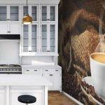 Кофе на стене