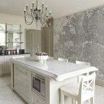 Кухонная стена с картой