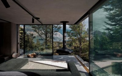 Панорамные окна в интерьере квартир и домов