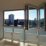 Панорамные окна-гармошка