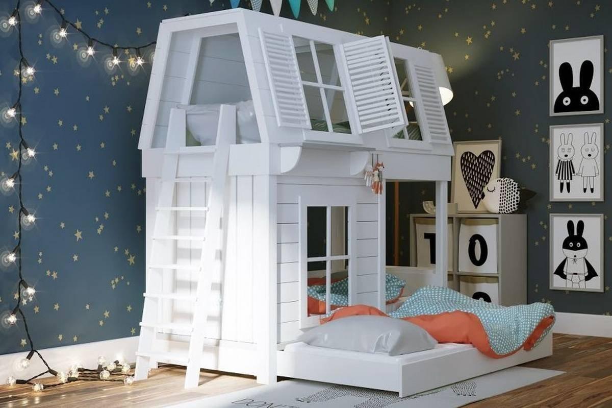 Кровать в форме домика