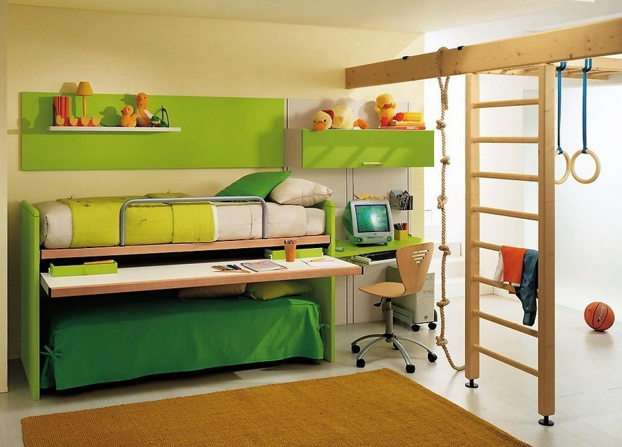 Многоярусная мебель для детской