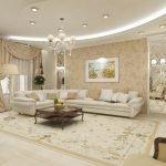 Классический стиль в интерьере квартиры 70 кв м