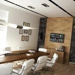 Светлая комната для деловых встреч