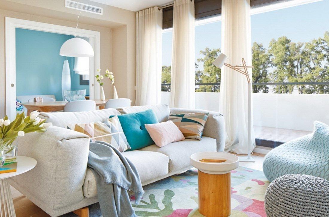 Светлая комната в марокканском стиле
