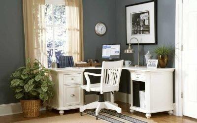 Письменные столы в интерьере: советы по выбору