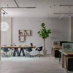Офисное помещение в стиле хай-тек