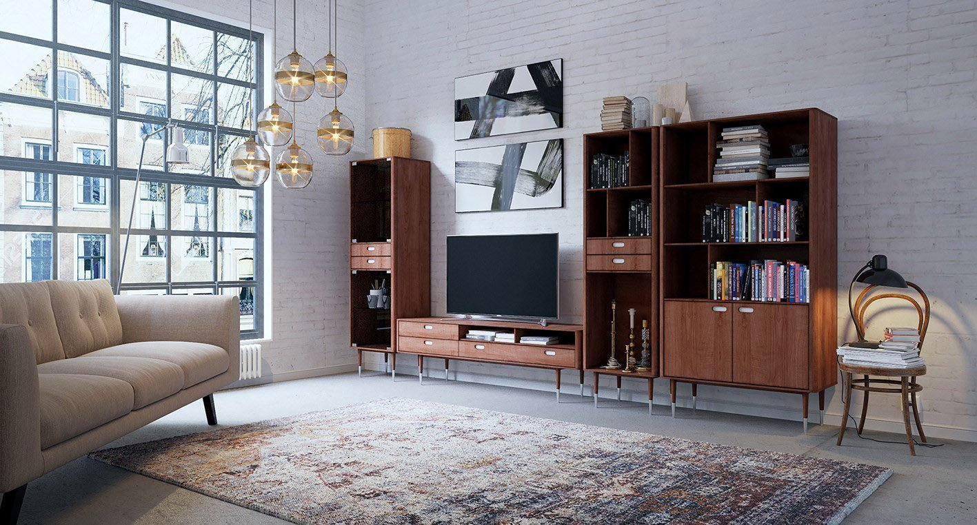 Мебель в стиле ретро в интерьере