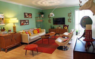 Стиль 60-х в интерьере: как создать