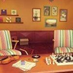 Полосатые кресла