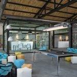 Вариант оформления зоны отдыха в офисном помещении