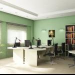 Бело-зеленые тона в дизайне комнат