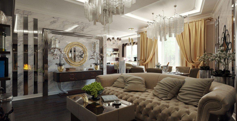 Декор в интерьере в стиле ар деко