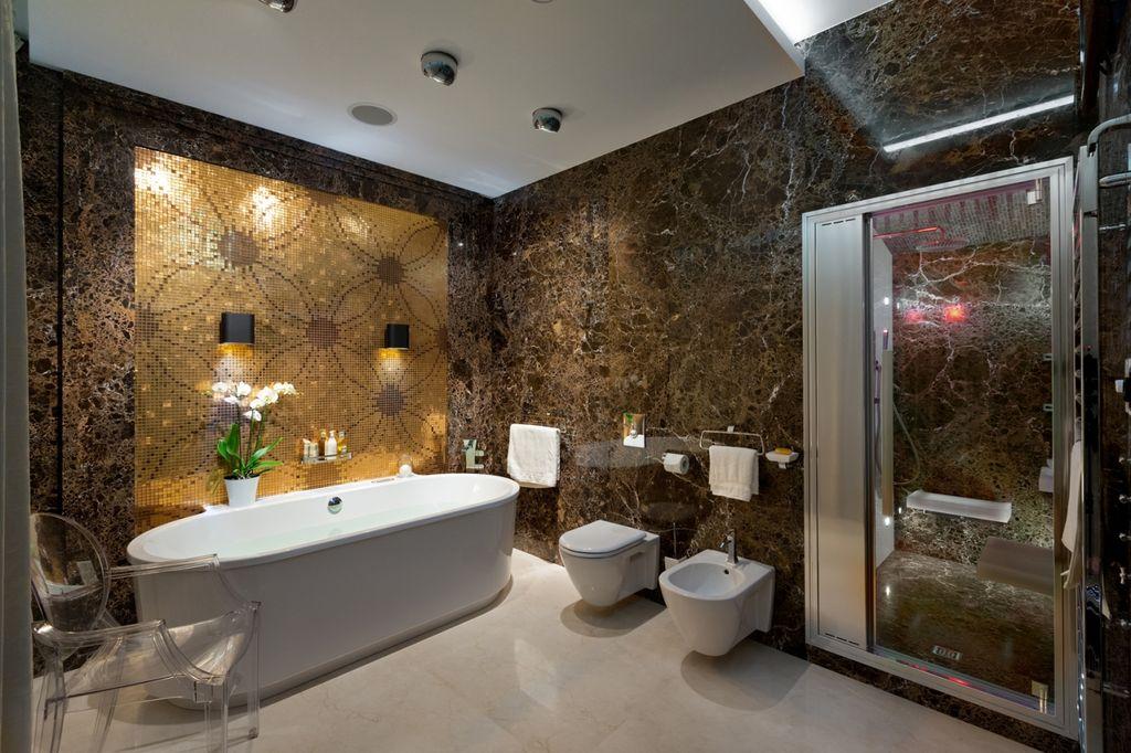 Ванная в стиле ар деко