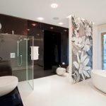 Зонирование большой ванной комнаты