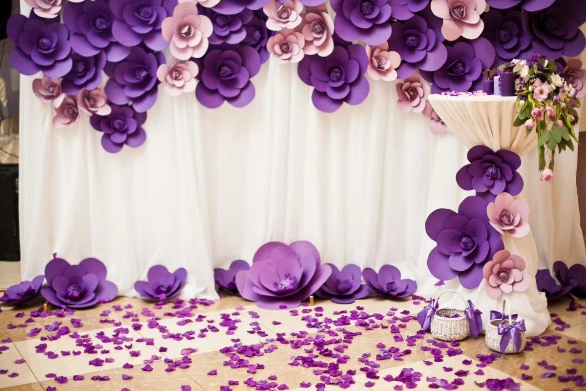 Цветы на полу
