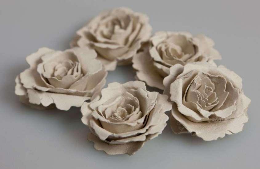 Цветы из крафтовой бумаги