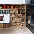 Деревянные ящики в интерьере