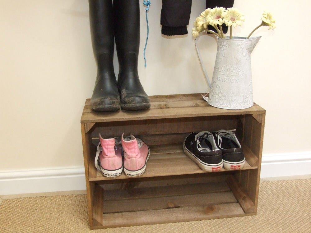 Тумба для обуви из ящика