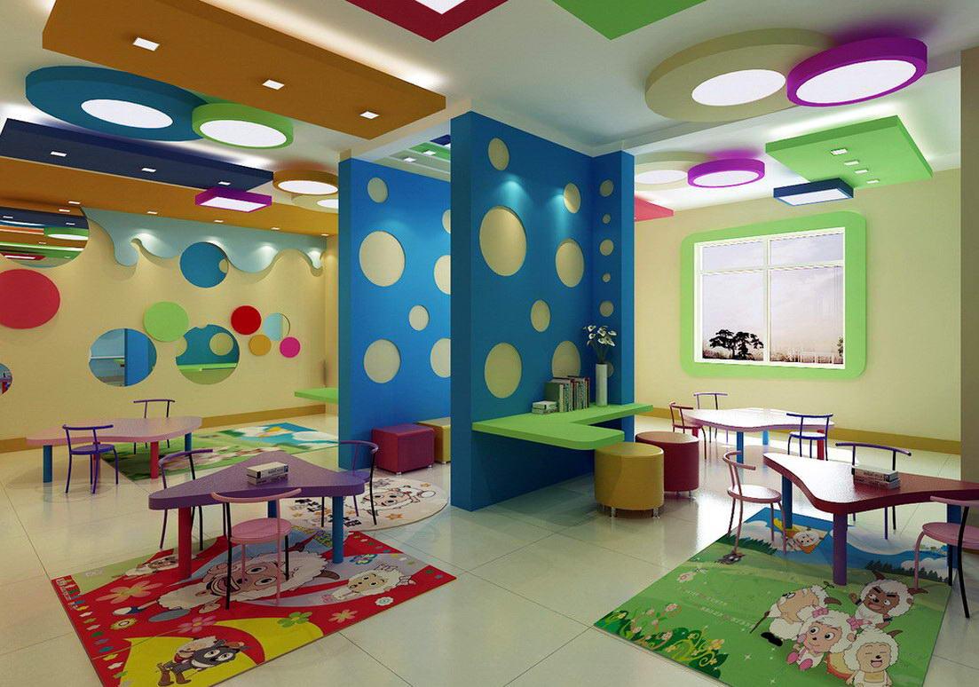 Оформление интерьера детского сада картинки