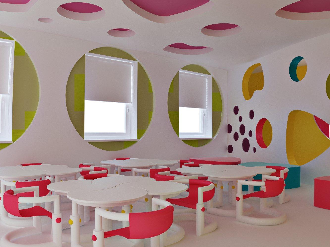 Столовая зона в детском саду