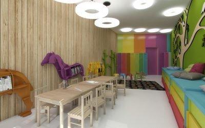 Дизайн детского сада: 50 фото идей