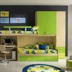 Зеленые ящики и шкафчики