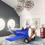 Кровать в виде самолета