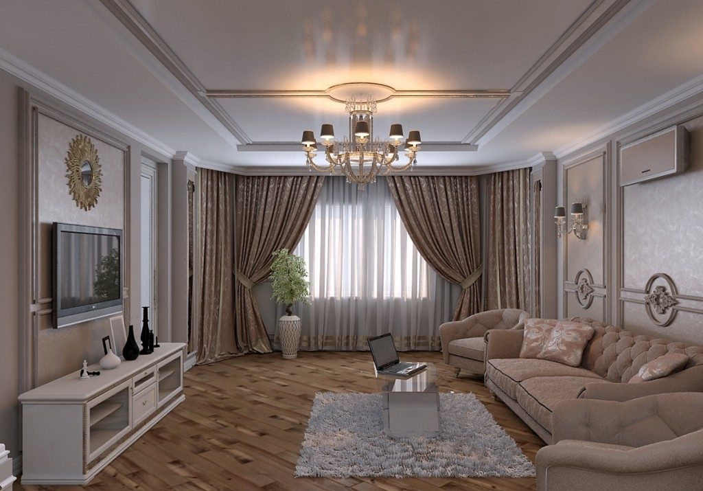 Декор в гостиной 19 кв м