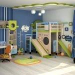 Мебель для игровой комнаты в квартире