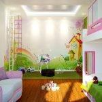 Игровая комната для маленькой принцессы