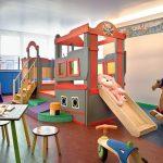Мебель с горкой для детской игровой комнаты