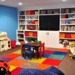 Яркие цвета в дизайне детской