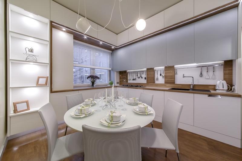 Мебель на кухне 3 на 4
