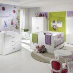 Белый цвет в дизайне детской комнаты