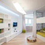 Белый в интерьере квартиры