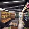Дизайн магазина продуктов