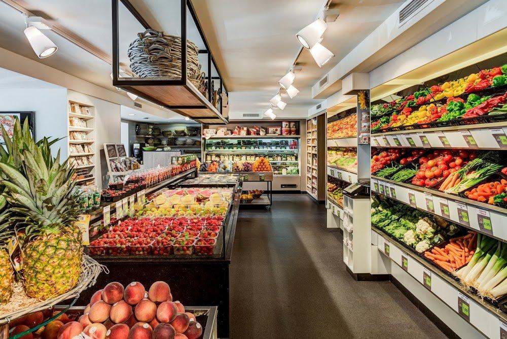 Дизайн овощного магазина