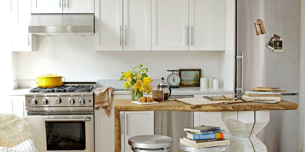 Пристенная кухня