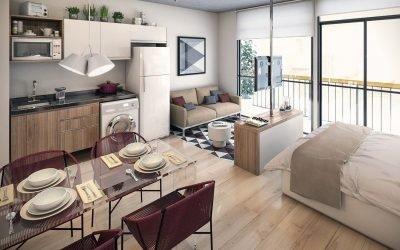 Дизайн квартиры 32 кв. м