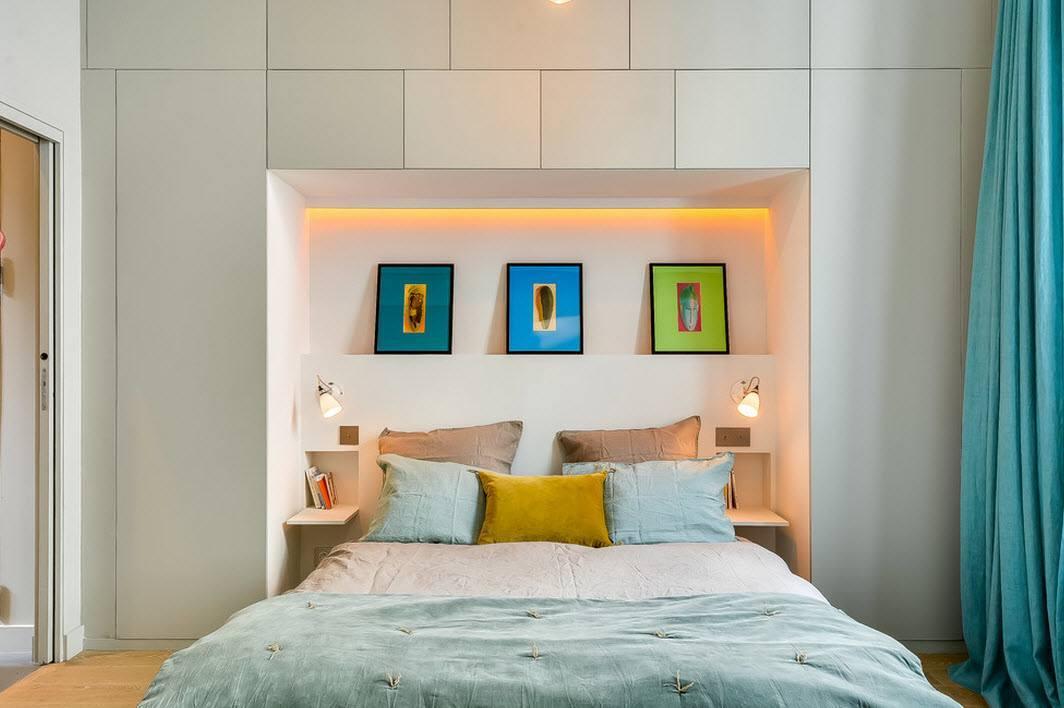 Дизайн спальни 15 кв. м