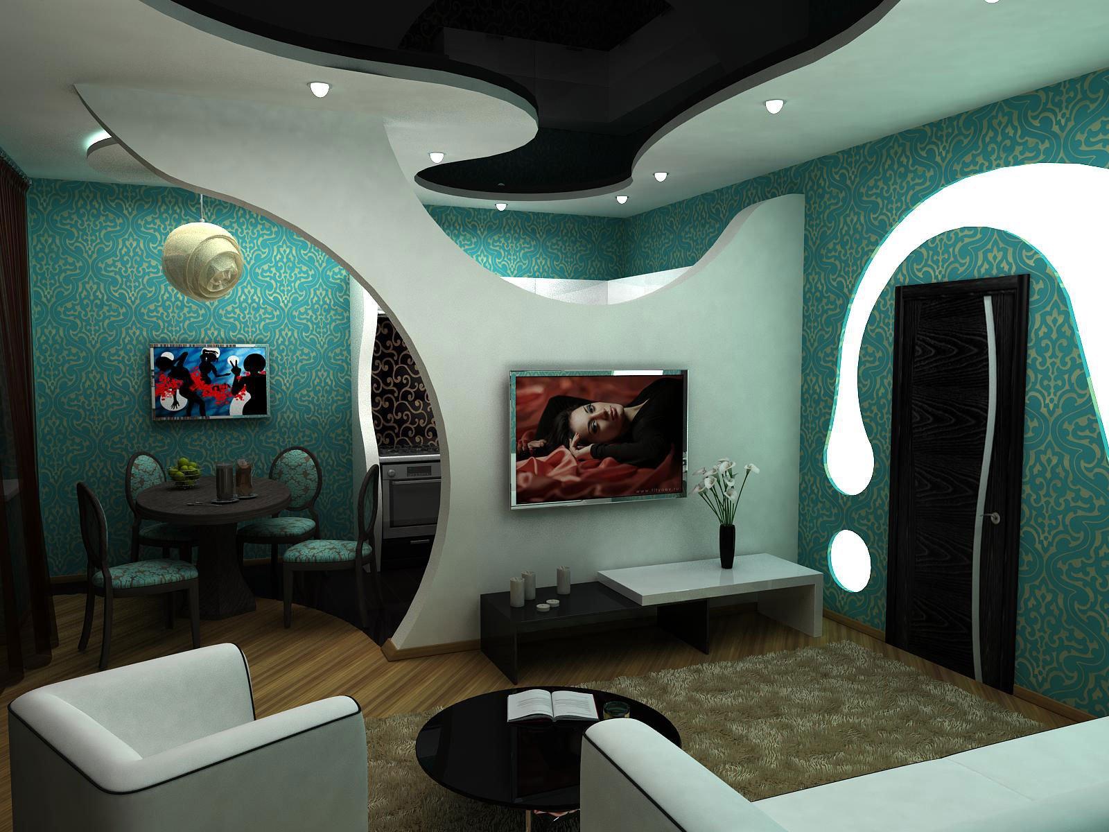 Потолки и стены из гипсокартона фотографии дизайн