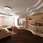 Применение гипсокартона для отделки стен и потолка
