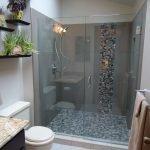 Цветы в интерьере ванной