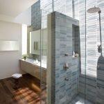 Серый цвет в дизайне ванной