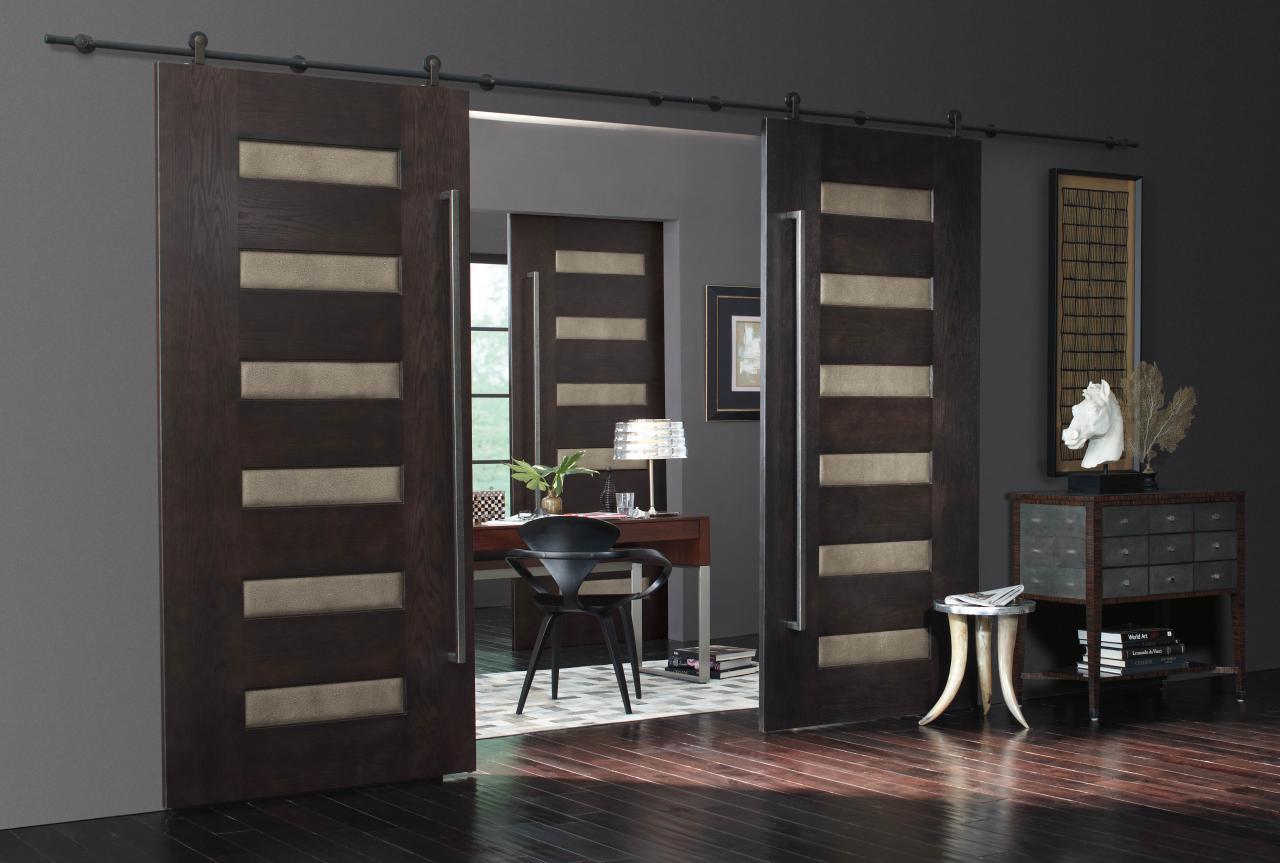 Раздвижные межкомнатные двери в интерьере квартиры