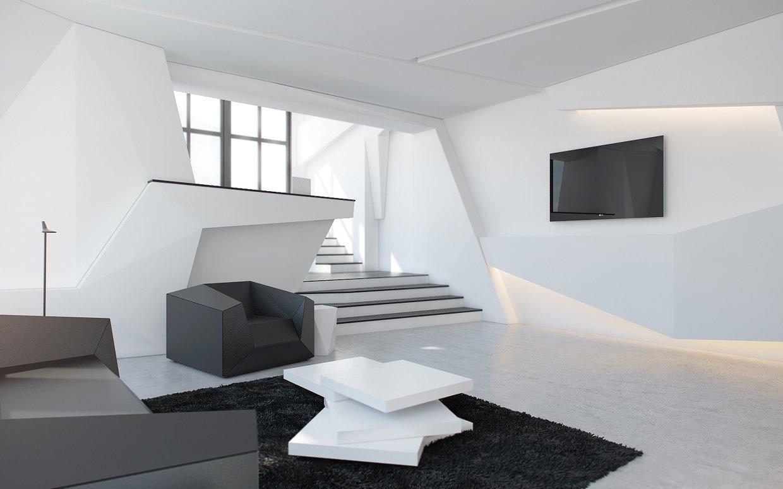 Геометрическая мебель